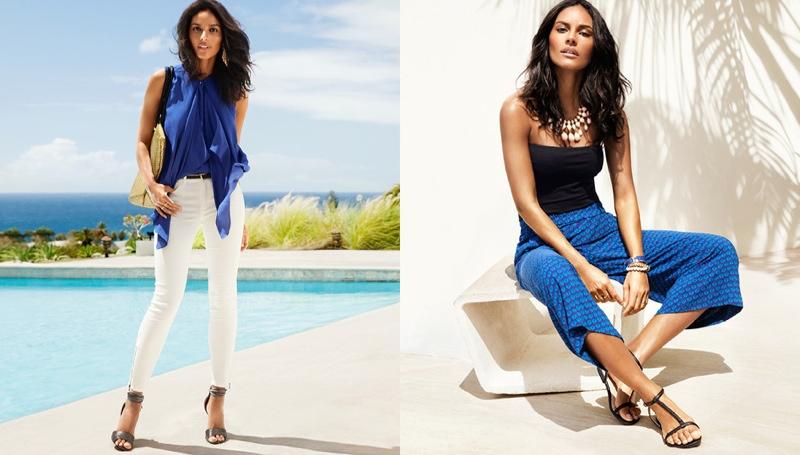 hm vibrant summer7 Frida Gustavsson + Emanuela de Paula Star in H&M Summer Style Update