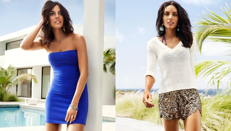 hm vibrant summer8 Frida Gustavsson + Emanuela de Paula Star in H&M Summer Style Update