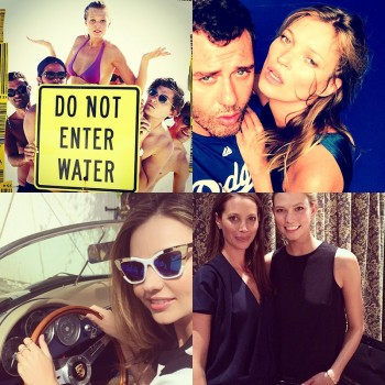 Instagram Photos of the Week | Kate Moss, Christy Turlington + More Models