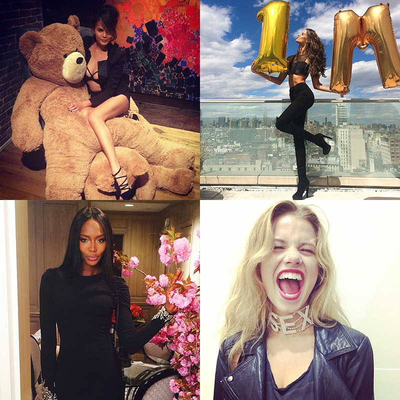 instagram model photos Instagram Photos of the Week | Izabel Goulart, Hailey Clauson + More Models