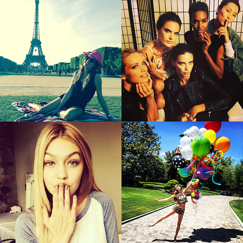 instagram models cannes Instagram Photos of the Week | Cannes Edition with Karlie Kloss, Adriana Lima + More!
