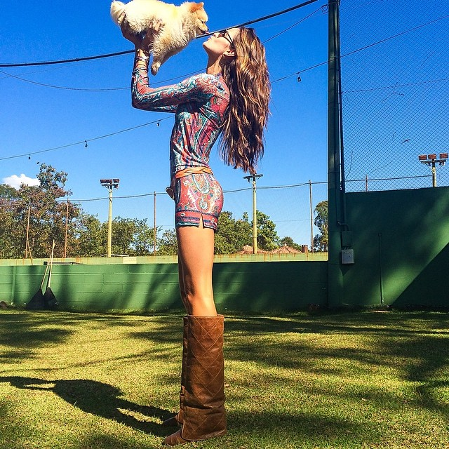 izabel goulart Instagram Photos of the Week | Karen Elson, Nina Agdal + More Models