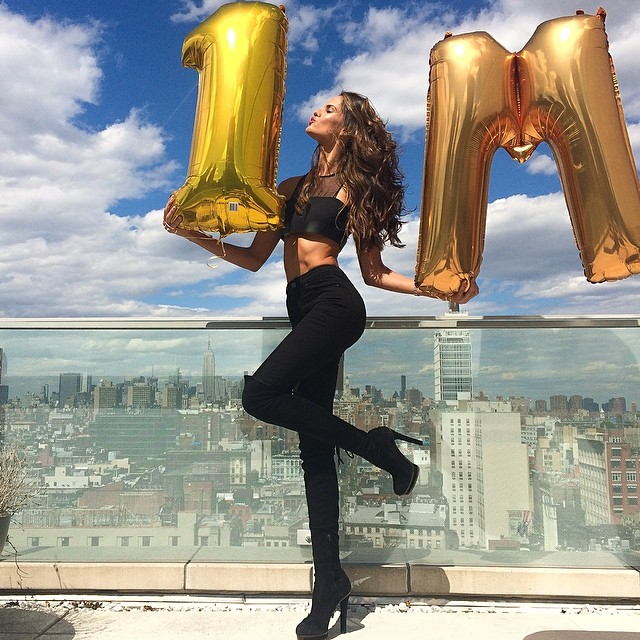 izabel million Instagram Photos of the Week | Izabel Goulart, Hailey Clauson + More Models