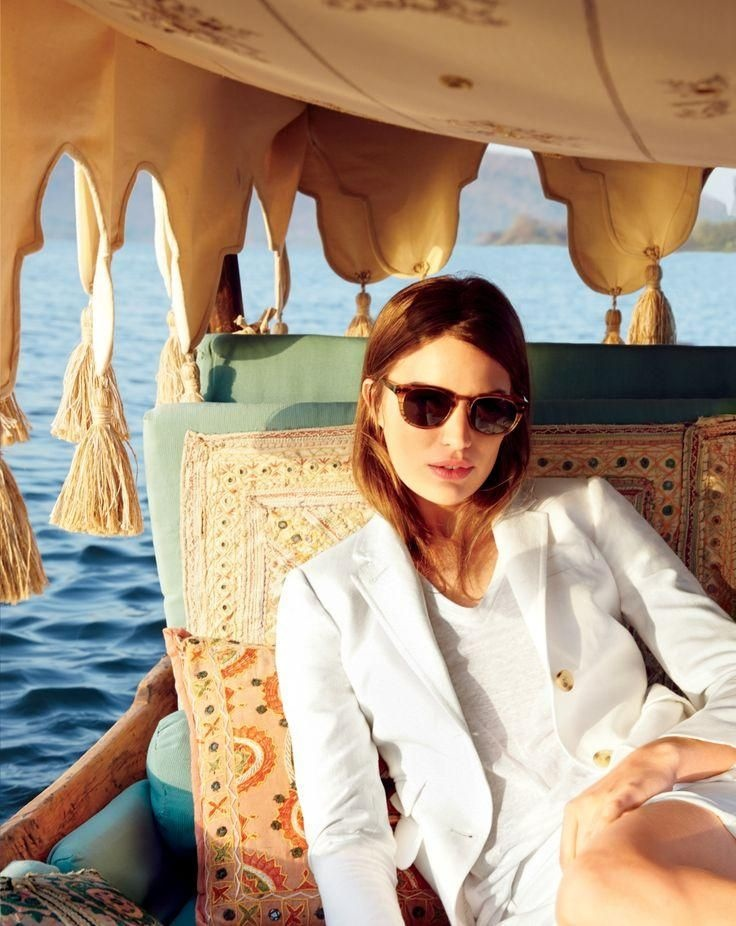 j crew june style guide1 Cameron Russell Stars in J. Crew's Leisure Filled June Style Guide