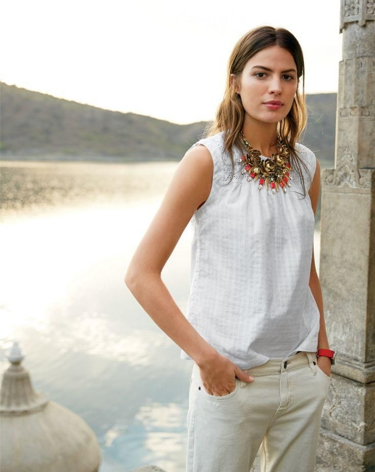 j crew june style guide11 Cameron Russell Stars in J. Crew's Leisure Filled June Style Guide