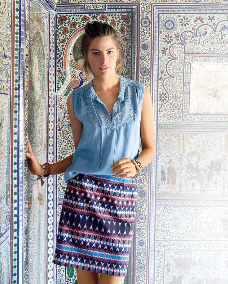 j crew june style guide4 Cameron Russell Stars in J. Crew's Leisure Filled June Style Guide