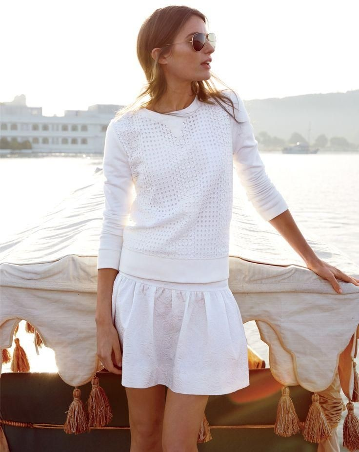 Cameron Russell Stars In J Crew S Leisure Filled June Style Guide