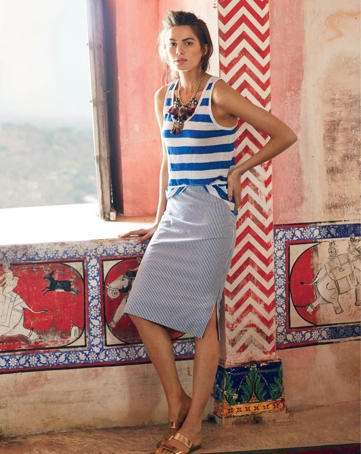 j crew june style guide9 Cameron Russell Stars in J. Crew's Leisure Filled June Style Guide