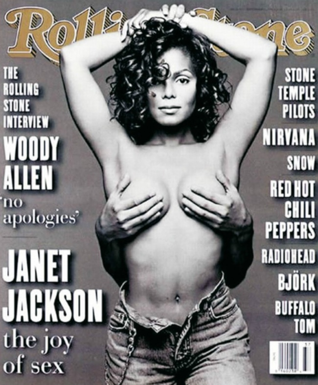 janet jackson 1993 rolling stone cover 10 Controversial Covers That We Wont Forget Anytime Soon
