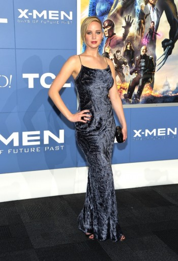 "Jennifer Lawrence is a Vision in Jason Wu Dress at the ""X-Men: Days Of Future Past"" NYC Premiere"
