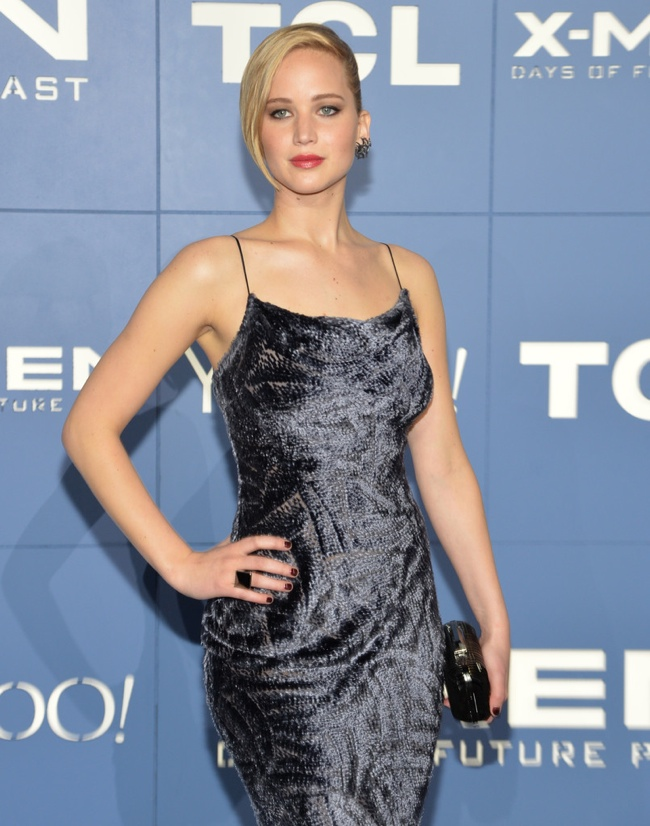 jennifer lawrence jason wu dress2 Jennifer Lawrence is a Vision in Jason Wu Dress at the X Men: Days Of Future Past NYC Premiere
