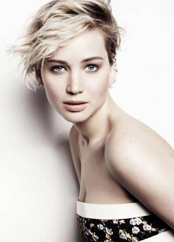 Jennifer Lawrence Tells Marie Claire Her 2nd Oscars Fall Wasn't Fake