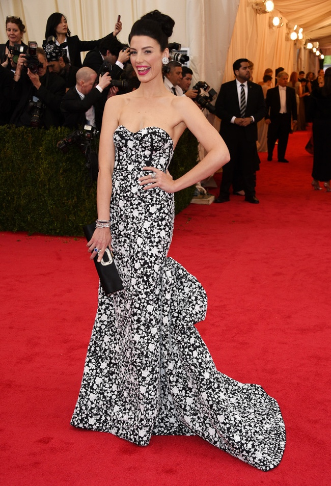 jessica pare met gala michael kors 2014 2014 Met Gala Red Carpet Looks
