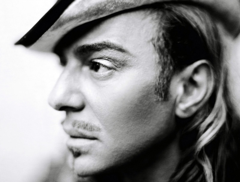 john galliano portrait John Galliano To Work With LEtoile Russia on Cosmetics Line