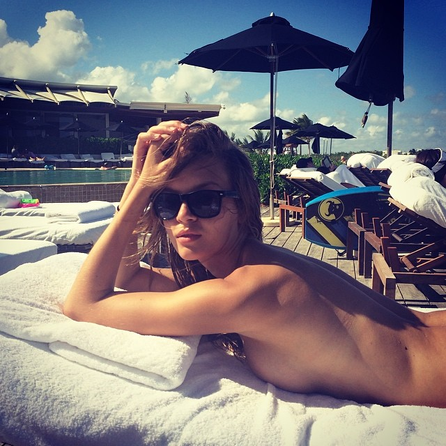 josephine pool Instagram Photos of the Week | Candice Swanepoel, Toni Garrn + More Models