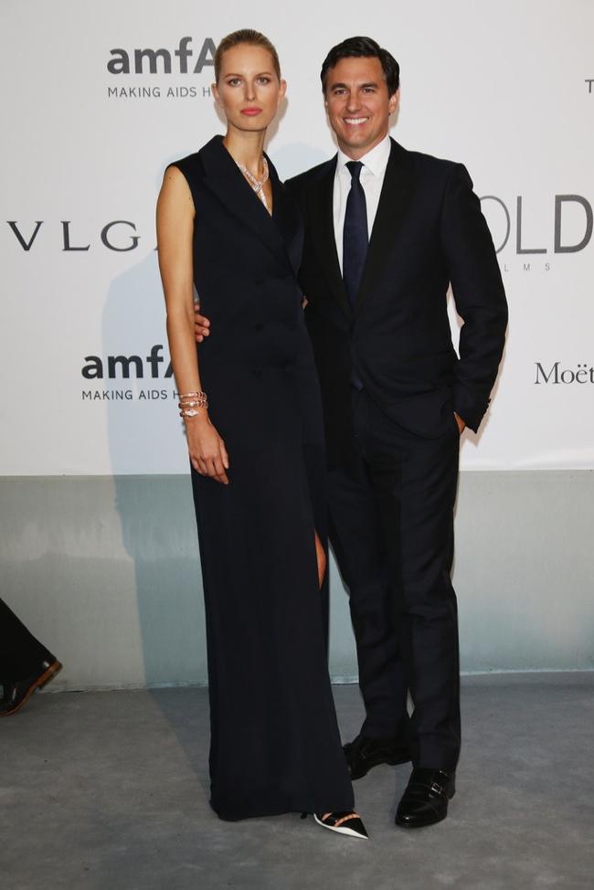 Karolina Kurkova was understated in Dior