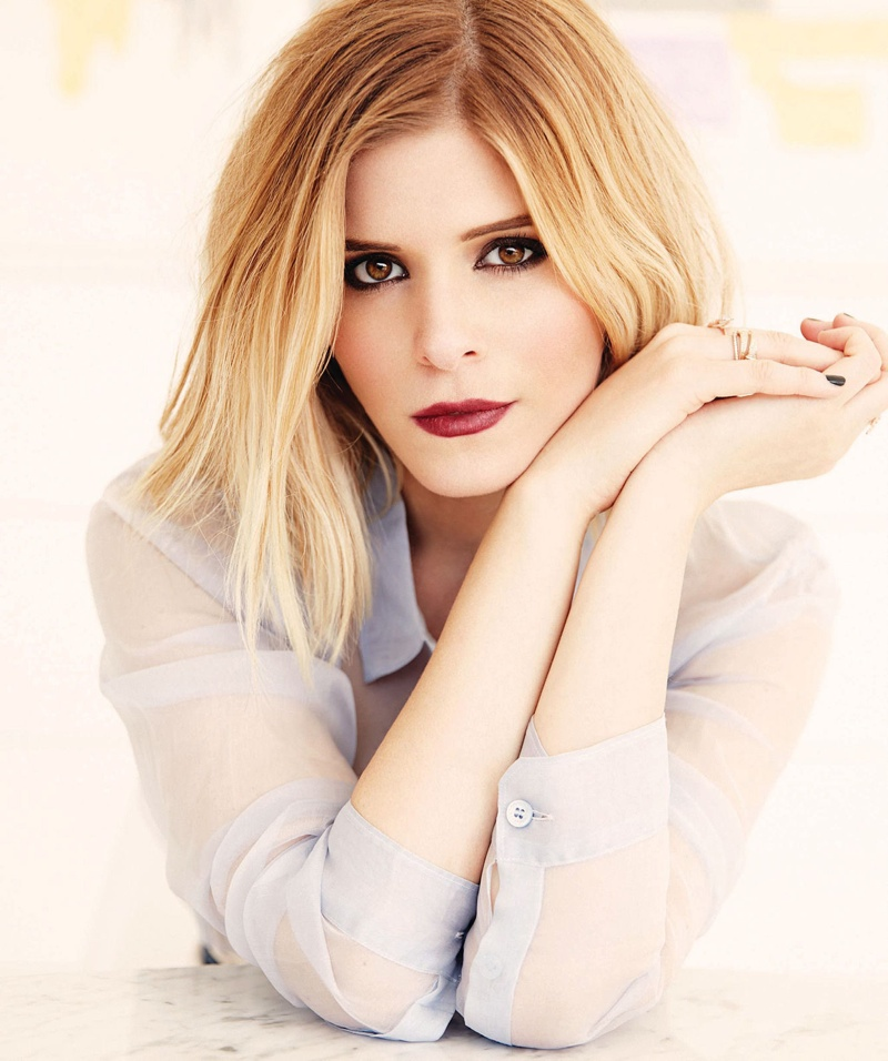 kate mara blonde photos3 Kate Mara Stars in Manhattan Magazine, Talks Fantastic Four Role
