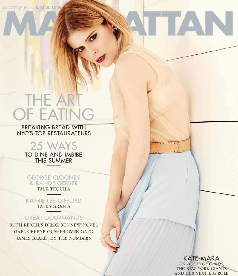 kate mara blonde photos6 Kate Mara Stars in Manhattan Magazine, Talks Fantastic Four Role
