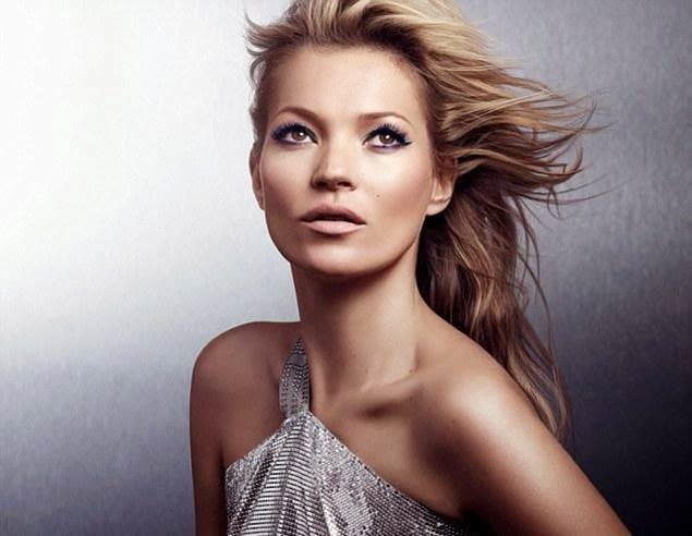 kate rimmel london spring 2014 2 Kate Moss Doesnt Know Why She Sells Magazines + Named UKs Richest Model