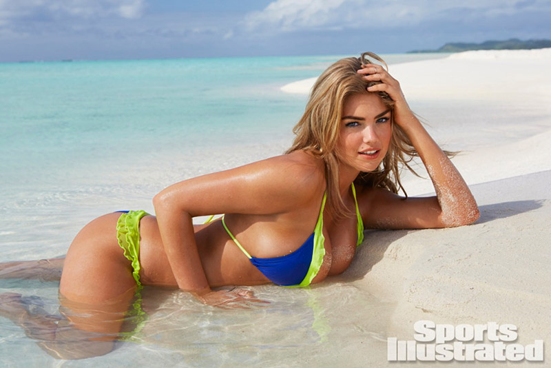 Photo: Kate Upton Showing Off Her Assets for Sports Illustrated 2014 Swim Issue