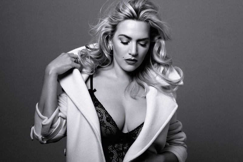 kate winslet harpers bazaar 2014 2 Kate Winslet Covers Harper's Bazaar, Says She's Excited to Turn 40