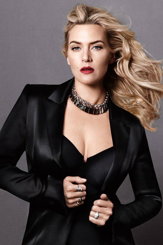 kate winslet harpers bazaar 2014 3 Kate Winslet Covers Harper's Bazaar, Says She's Excited to Turn 40