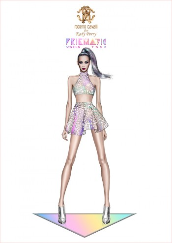 Roberto Cavalli Designs Costumes for Katy Perry's Prismatic Tour