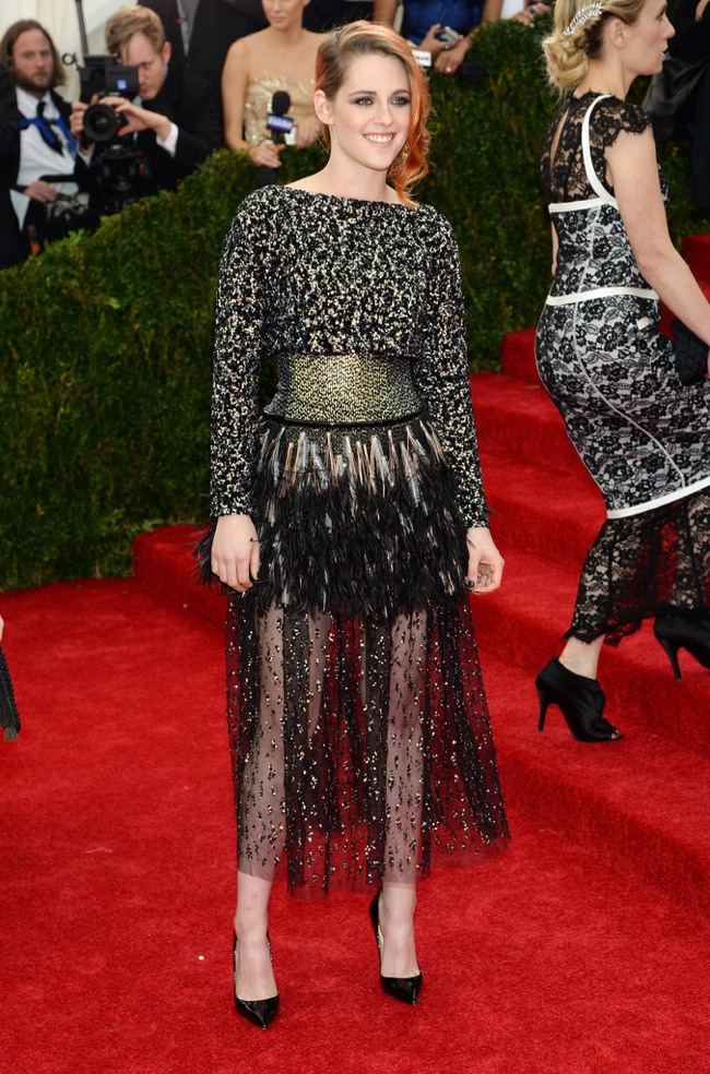 kristen stewart chanel met gala 2014 Met Gala Red Carpet Looks