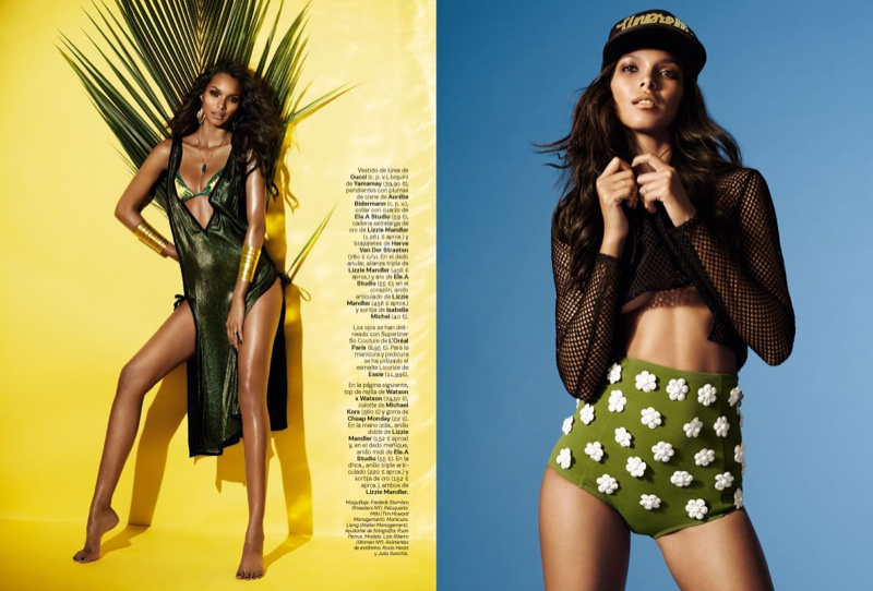 lais ribeiro photo shoot 2014 4 Lais Ribeiro is Ready for the World Cup in S Moda by Jonas Bresnan