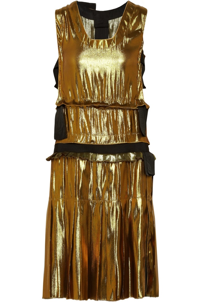 lanvin metallic dress3 Net a Porter US Sale Offers 50% Reductions