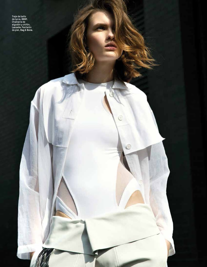 lara mullen model7 Lara Mullen is a Good Sport for LOfficiel Mexico by Sevda Albers