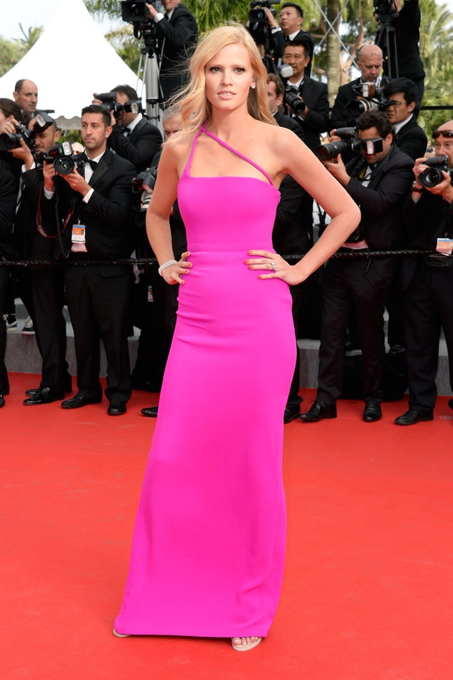 More Dresses From Cannes Final Events Lara Stone Paz