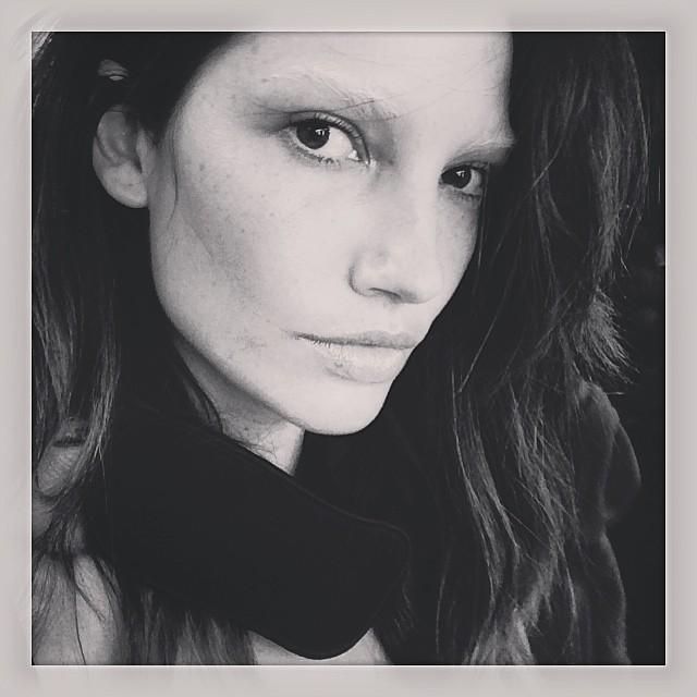 lily no eyebrows Instagram Photos of the Week | Kate Moss, Christy Turlington + More Models