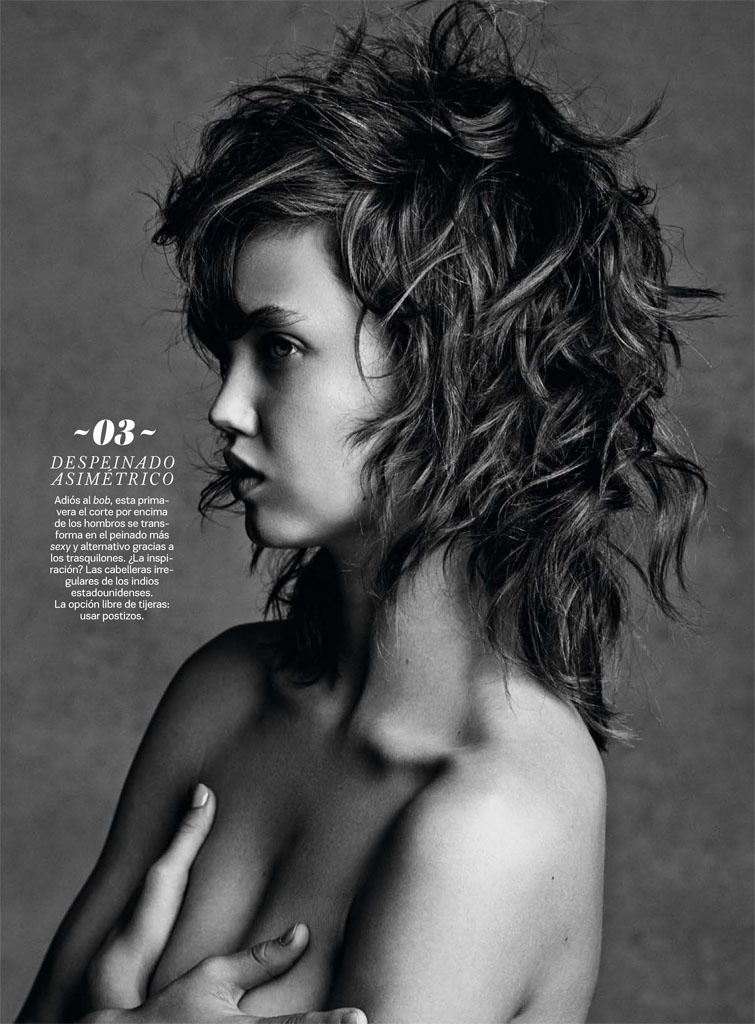 lindsey wixson beauty david roemer03 Lindsey Wixson Transforms in S Moda Beauty Shoot by David Roemer