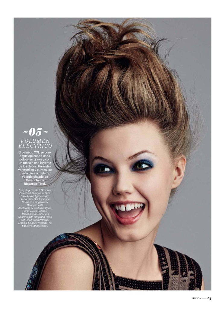lindsey wixson beauty david roemer05 Lindsey Wixson Transforms in S Moda Beauty Shoot by David Roemer