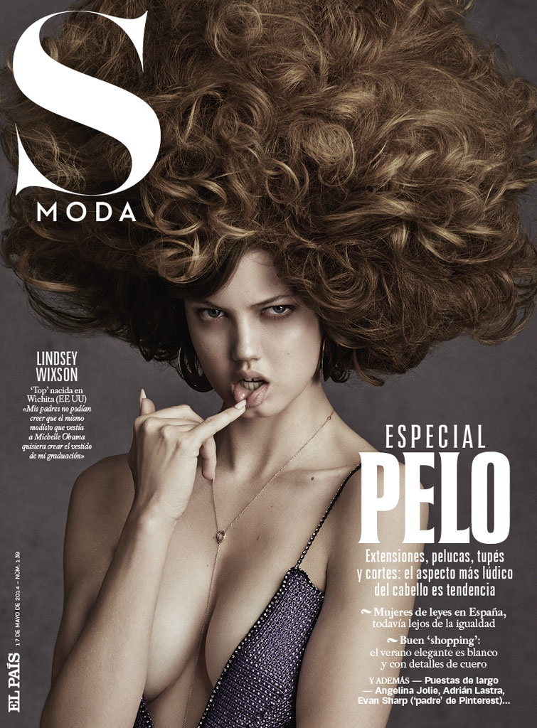 lindsey wixson beauty david roemer07 Lindsey Wixson Transforms in S Moda Beauty Shoot by David Roemer