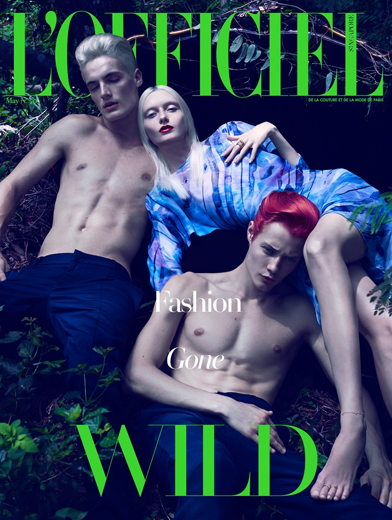 lofficiel singapore photos 81 Into the Wild: Alexa Yudina Gets Tropical for LOfficiel Singapore May Cover Shoot