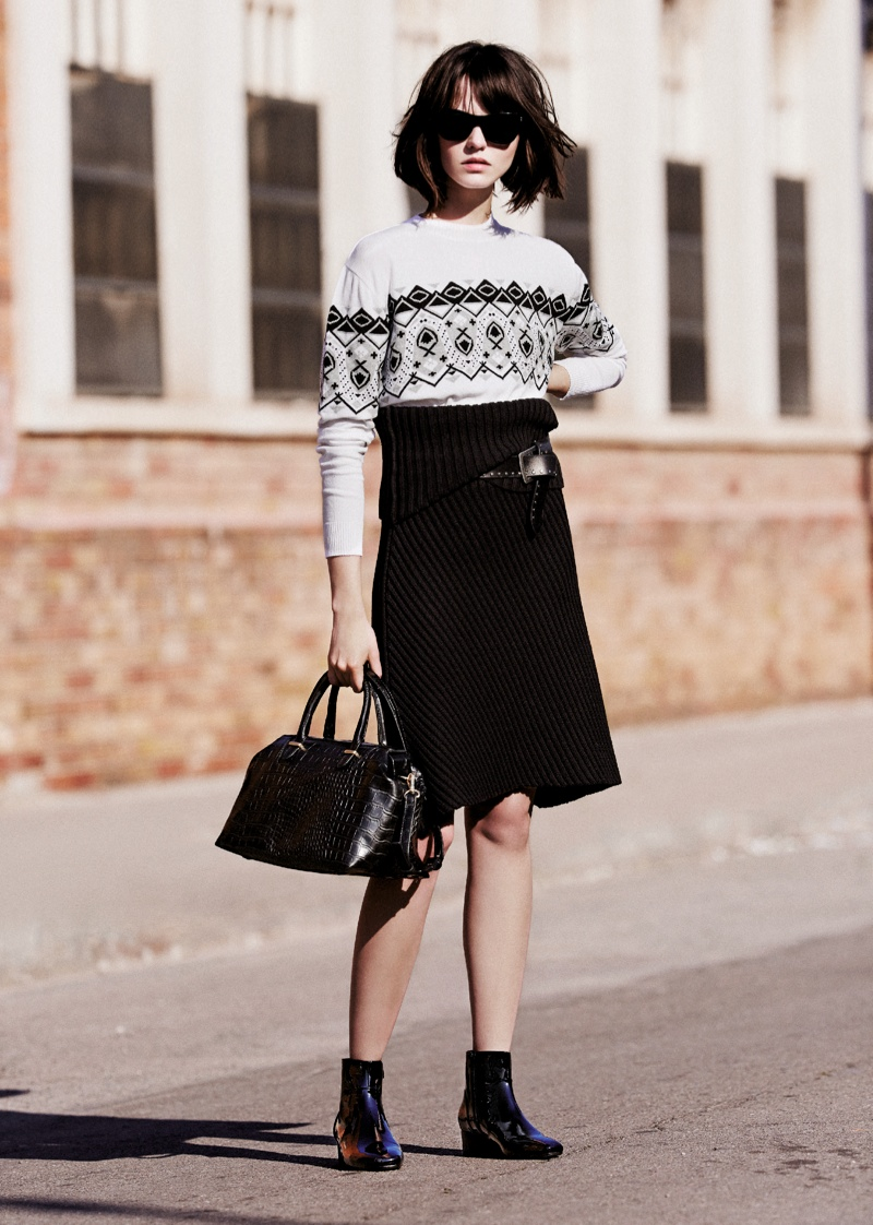 mango prefall 2014 12 Mango Takes it To the Streets for Pre Fall 2014 Collection