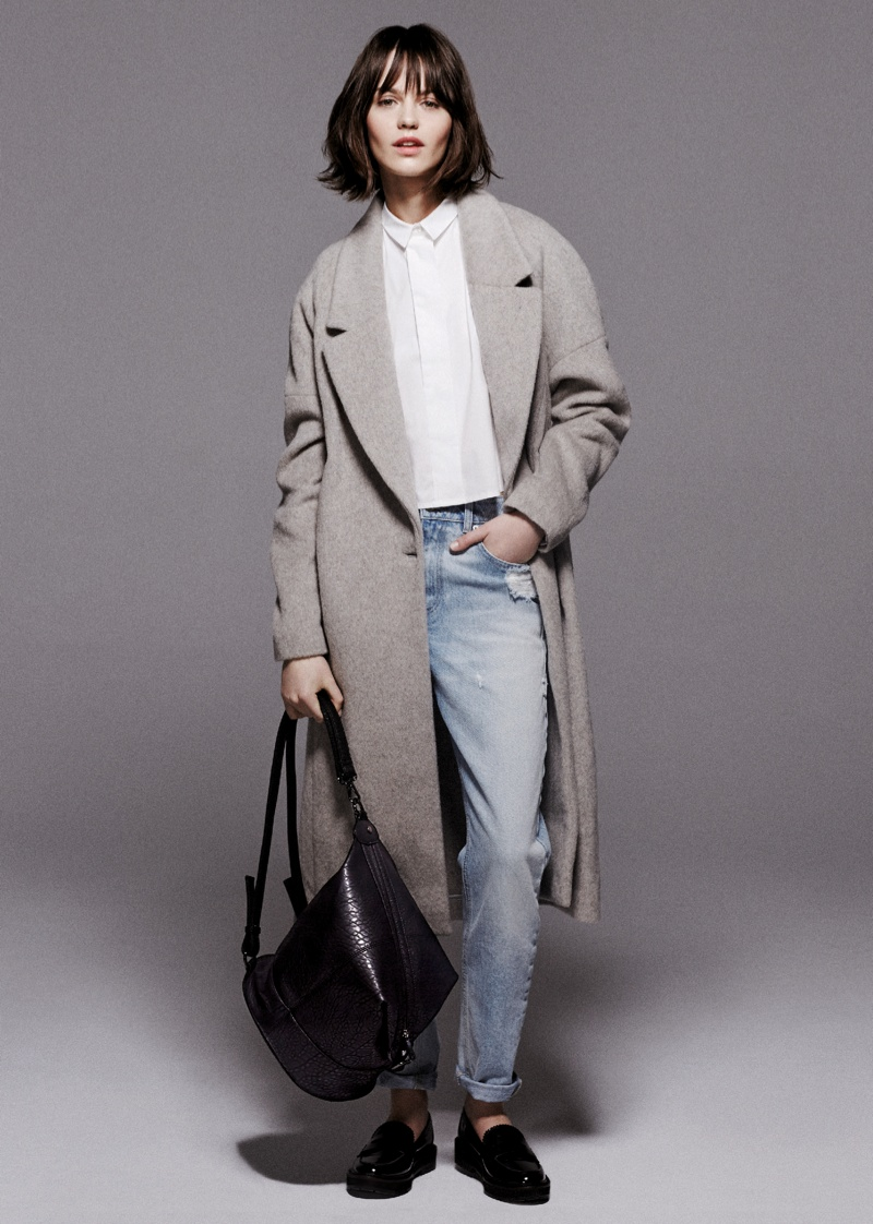 mango prefall 2014 6 Mango Takes it To the Streets for Pre Fall 2014 Collection