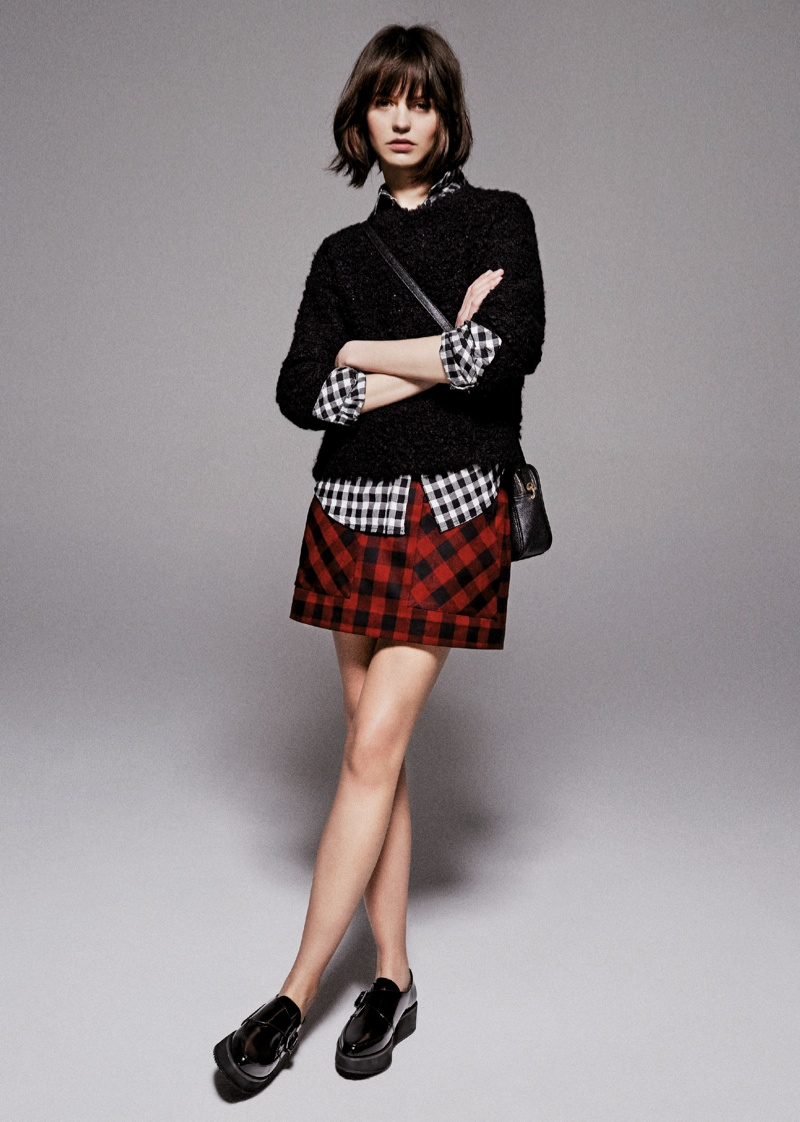 mango prefall 2014 8 Mango Takes it To the Streets for Pre Fall 2014 Collection