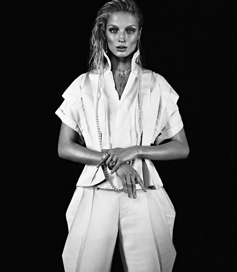 melissa tammerijn xavi gordo6 Melissa Tammerijn Serves Futuristic Glam in RABAT Shoot by Xavi Gordo