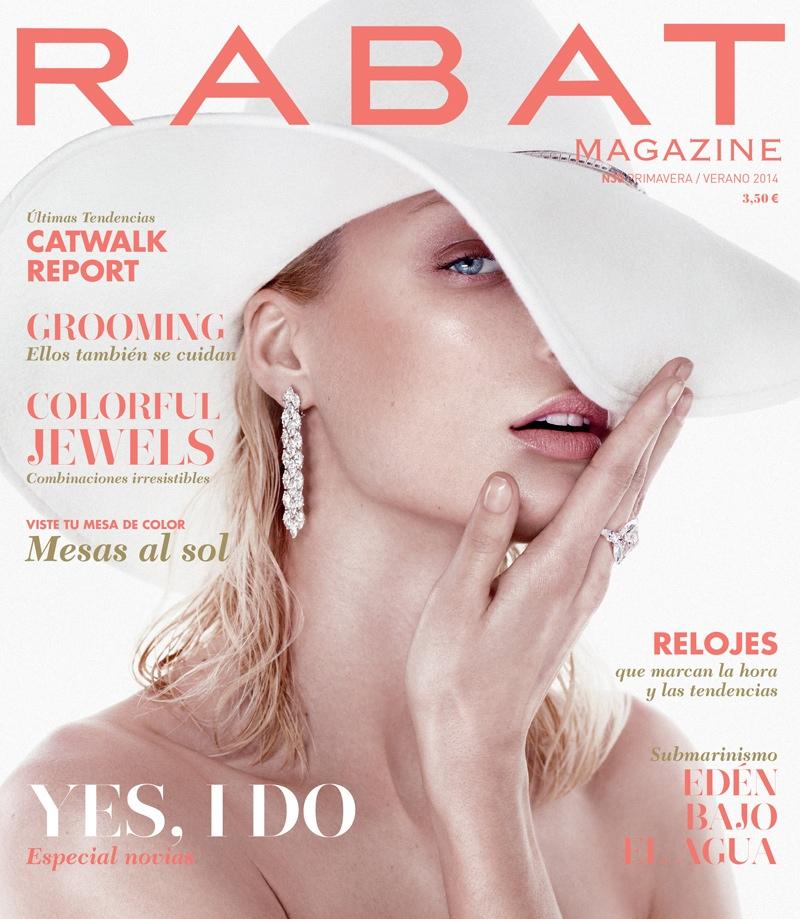 melissa tammerijn xavi gordo7 Melissa Tammerijn Serves Futuristic Glam in RABAT Shoot by Xavi Gordo