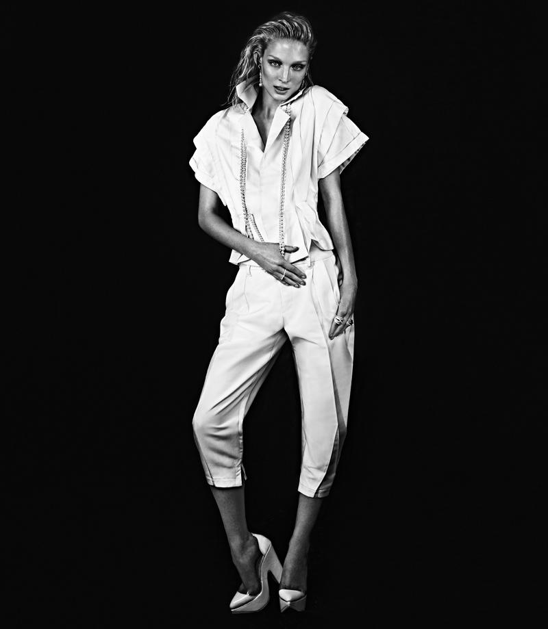melissa tammerijn xavi gordo8 Melissa Tammerijn Serves Futuristic Glam in RABAT Shoot by Xavi Gordo
