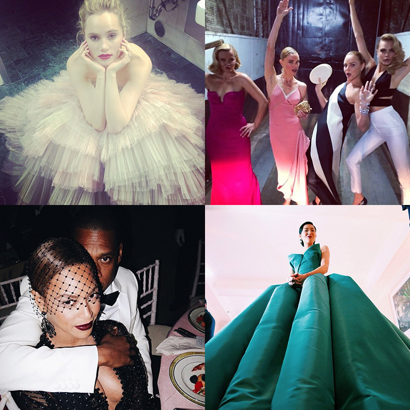 met gala instagram 2014 The Best Instagram Shots from Last Nights Met Gala