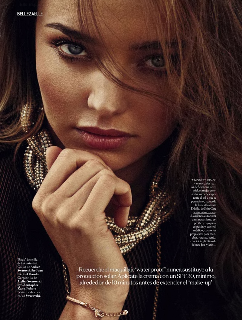 miranda kerr xavi gordo13 Miranda Kerr Models Swimsuits, Golden Tan for Elle Spain by Xavi Gordo