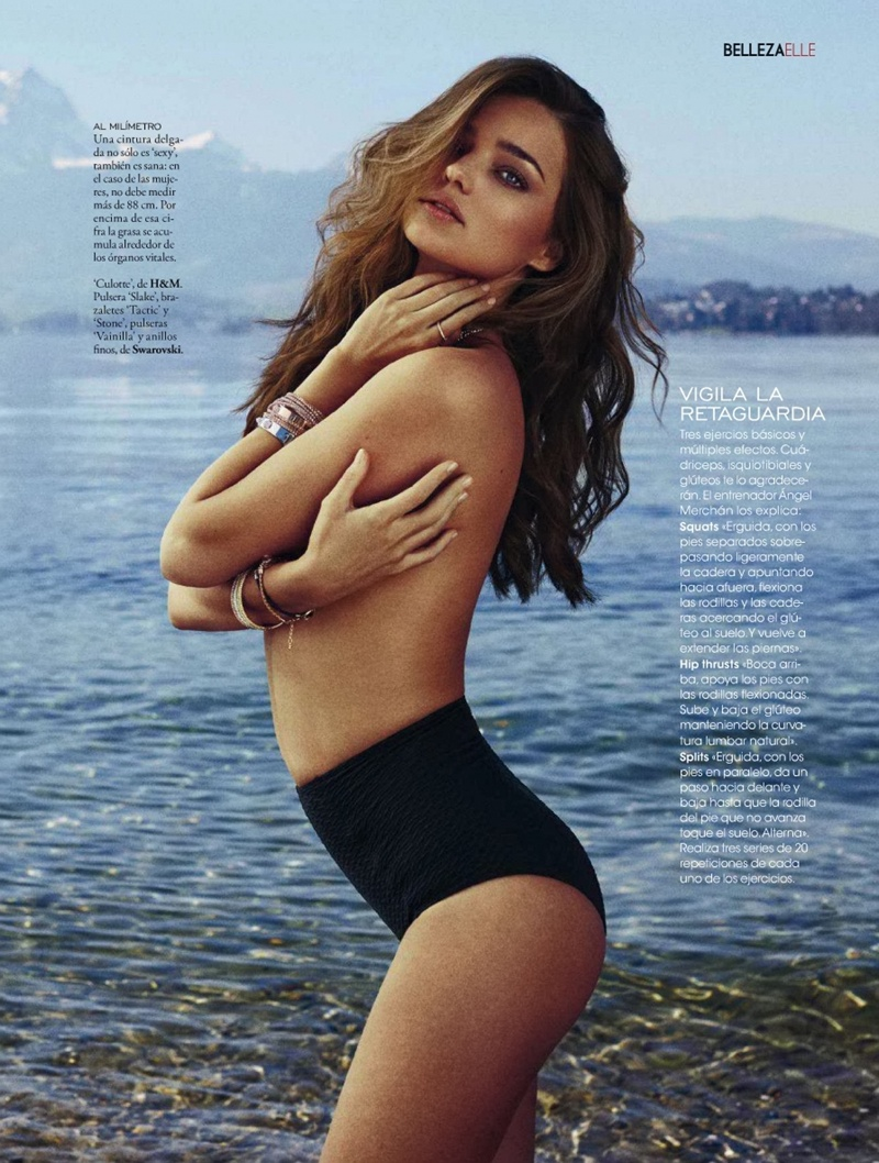 miranda kerr xavi gordo8 Miranda Kerr Models Swimsuits, Golden Tan for Elle Spain by Xavi Gordo