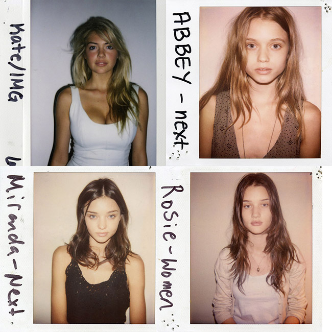 models old polaroids TBT | Models' First Polaroids with Kate Upton, Karlie Kloss, Miranda Kerr + More