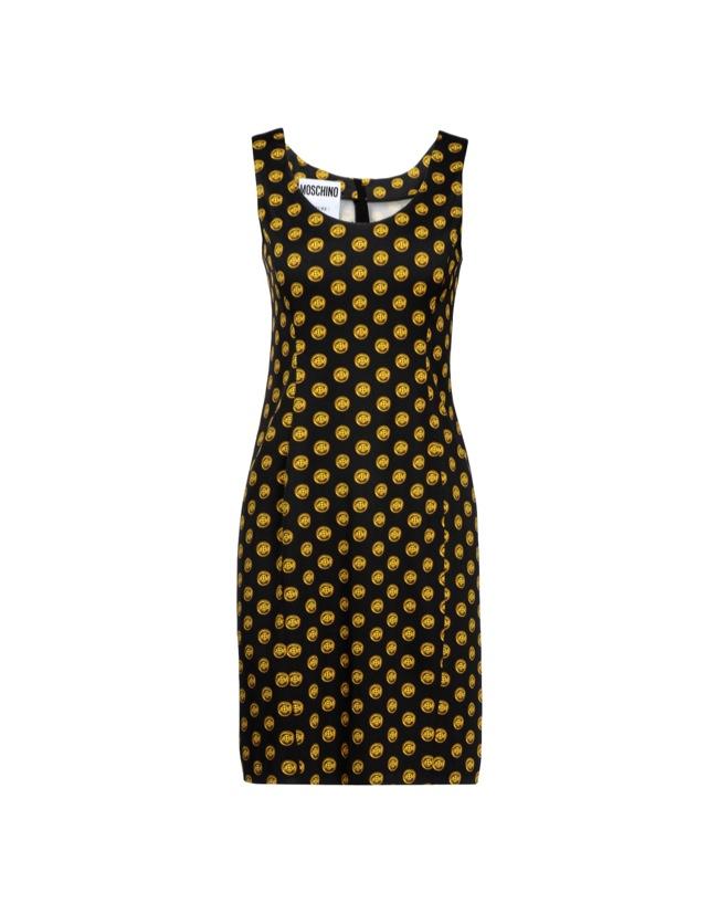 Moschino Fall/Winter 2014 Printed Dress