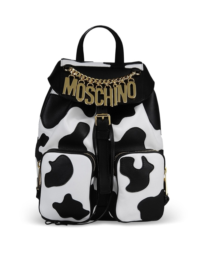 Moschino Fall/Winter 2014 Cow Print Bag