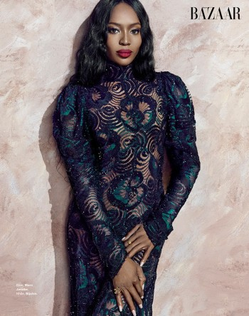 Naomi Campbell Stuns in Bazaar Vietnam Shoot by An Le